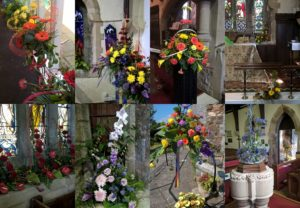 Some of the colourful displays on show over the weekend of 28-29 May