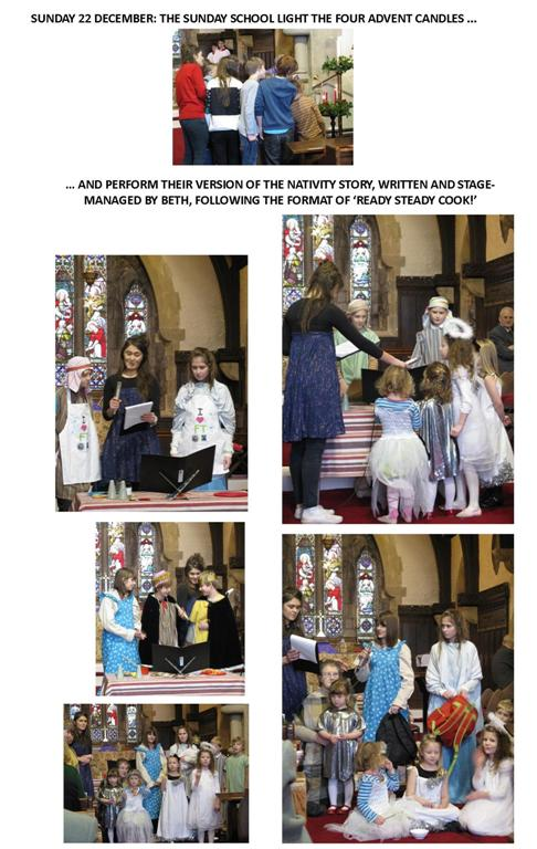 The Sunday School retell the story of the Nativity in their own inimitable way!
